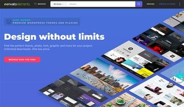 Envato Elements - Unlimited creative template downloads