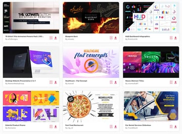 Get unlimited access to thousands of Adobe After Effects templates.