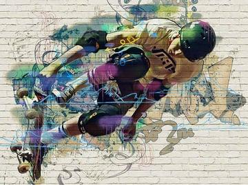 Street Art Graffiti Logo Photoshop