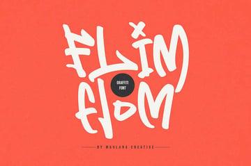Flim Flom - Graffiti Font