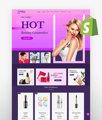 Sofee - Beauty Cosmetic Hair Salon Shopify Theme