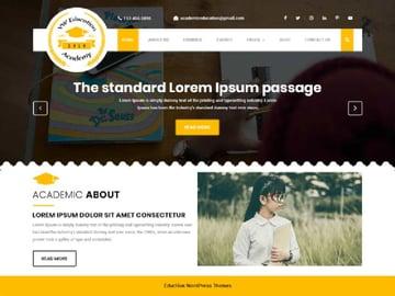 VW Education Academy Free WordPress LMS Theme