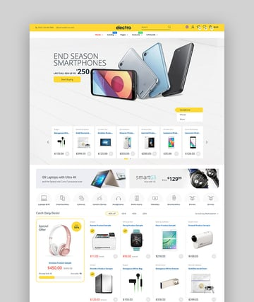 Electro - Shopify Electronics Store Theme