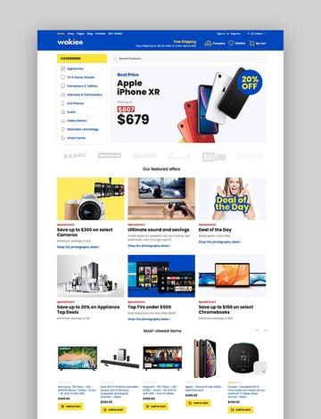 Wokiee - Best Multipurpose Shopify Theme