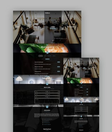 Restaurant Lambiance - html template for restaurants