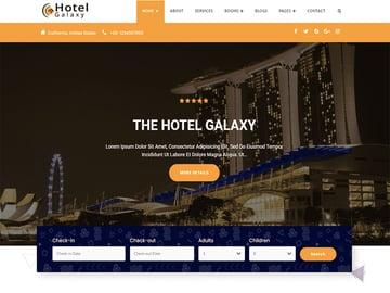 Hotel Galaxy WordPress Theme