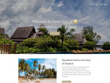 Hotel Inn Free Hotel WordPress Theme