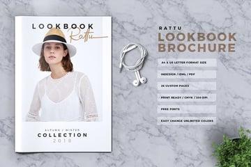 RATTU - Lookbook Brochure Catalogue