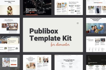 Publibox - Blog News  Magazine Elementor