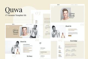 Quwa - CV Resume Template Kit