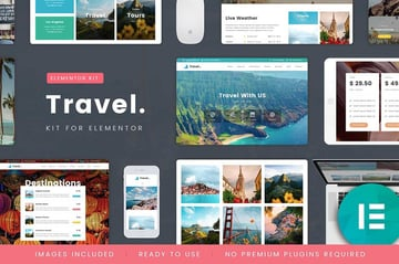 TravelTour - Travel  Booking Template Kit