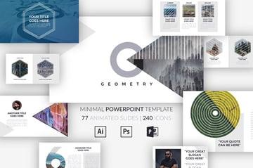 GEOMETRY Minimal Powerpoint Template