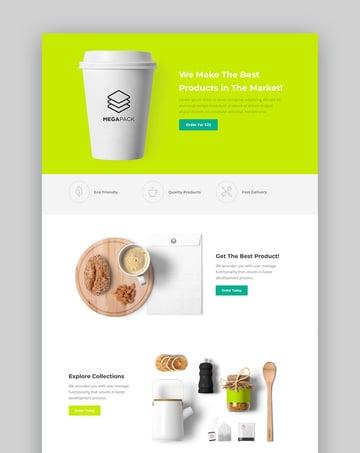 Megapack  Marketing HTML Landing Pages Pack