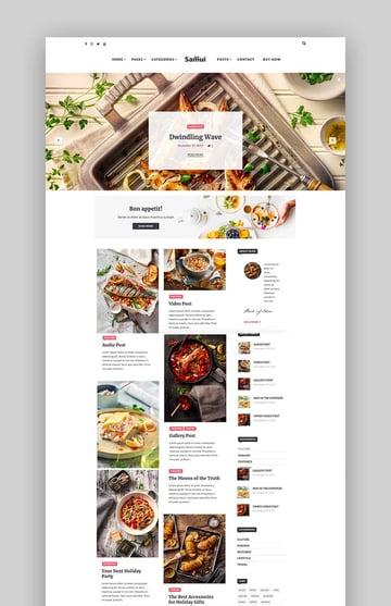 Samui - Gutenberg WordPress Theme for Blog and Magazine