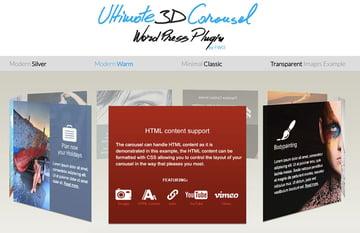 Ultimate 3D Carousel - Plugin de carrusel para WordPress