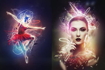Plasma Photoshop Action