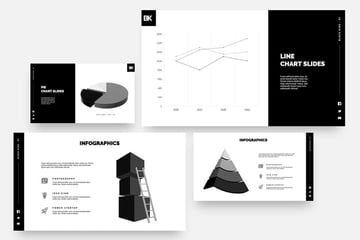 Black King - Minimal Creative Powerpoint Template