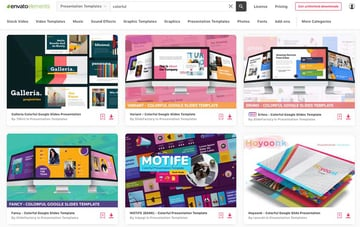 unlimited downloads of cute themes for Google Slides