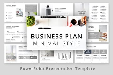 Minimal Style Business Plan Presentation