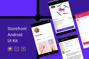 Storefront Android UI Kit