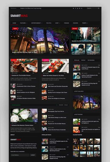 SmartMag - Responsive  Retina WordPress Magazine