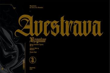 Avestrava Regular