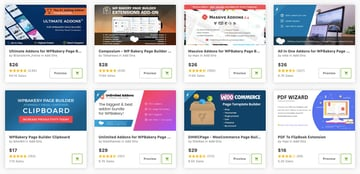 Best WPBakery Page Builder add-ons on CodeCanyon