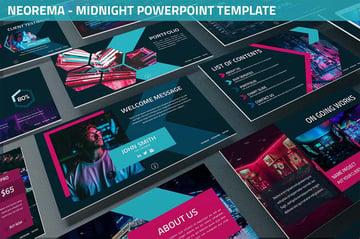 Neorema - Midnight Powerpoint Template