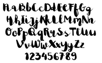 Astrud Miller: Free Cricut Cursive Fonts