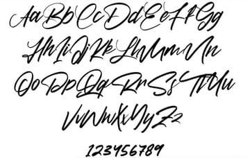 Diettersen: Free Calligraphy Cricut Fonts