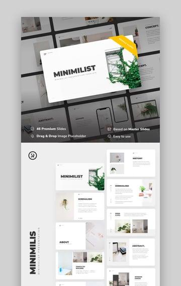 Minimilis - Minimalist Business Google Slides Template