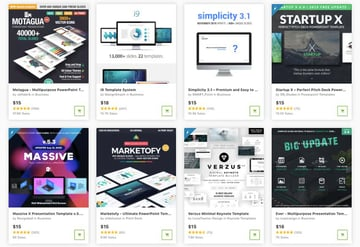 best new presentation templates for 2021 on GraphicRiver