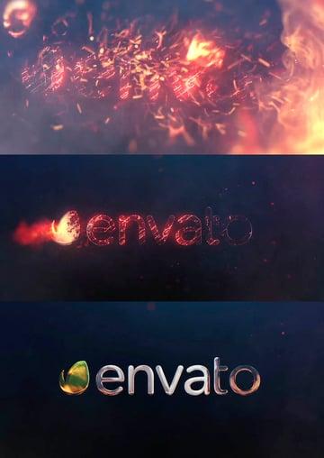 Burn Logo 4K