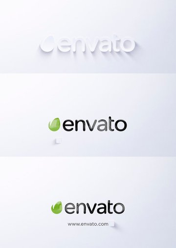 Clean and Simple Logo Reveal