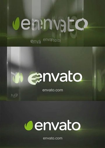 Glass Logo Animated Video
