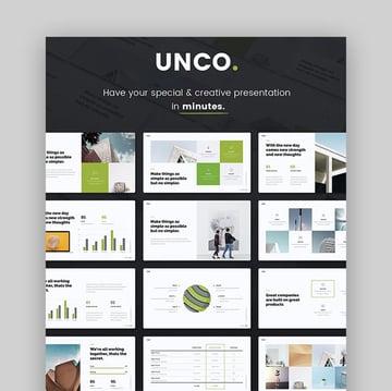 UNCO - Einfache Präsentationsvorlage