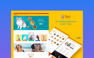 Bowie - Online Exotic Pet Store Shopify Theme