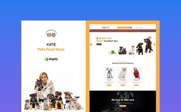 Kate - Pet Supplies Shopify Theme