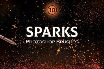 Sparkle Photoshop Brushes (ABR)