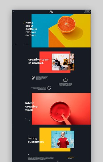 MegaOne - One Page Basic HTML Template
