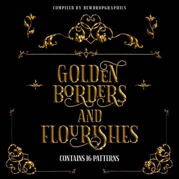 Golden Flourish Designs Free