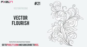 Free Flourishes Vector