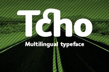 Tcho Arabic Calligraphy Fonts