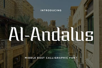 Al Andalus Arabic Font Download