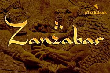 Zanzabar Arabic Style Font