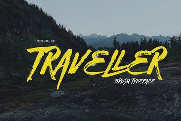 Traveller Brush Script Font Download