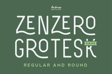 Zenzero Sans Serif Font Download