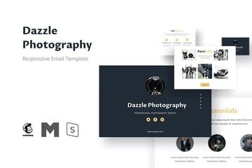 Dazzle Photography Email Marketing Design