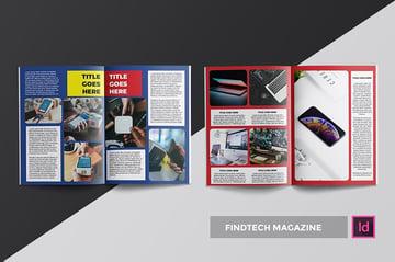 Findtech Interesting Magazine Layouts