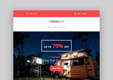 Multimail - Responsive Mailchimp Email Set